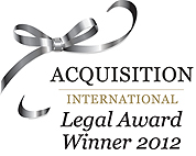 Legal Award Winner 2012