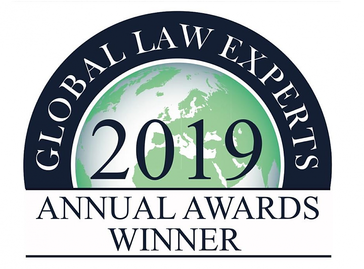 2019 Global Law Experts Annual Awards