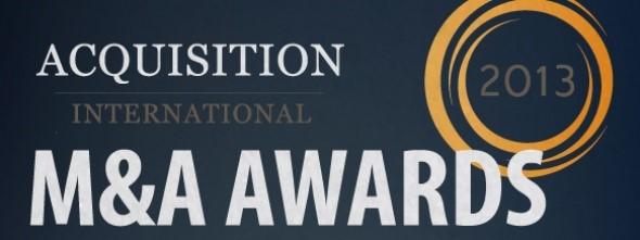 M&A Awards 2013
